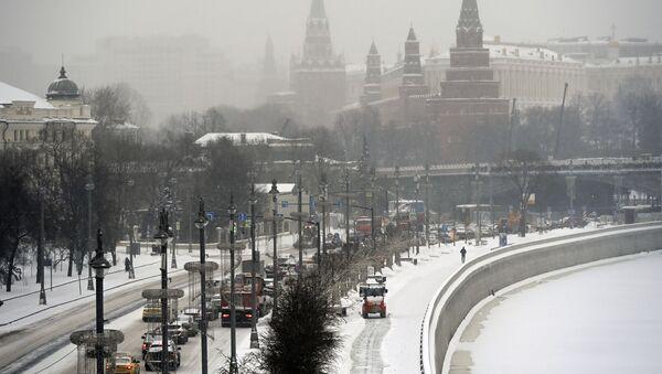 Снег в Москве - Sputnik Абхазия