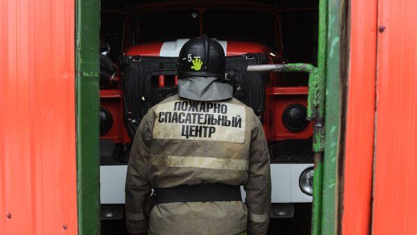 Работа пожарно - спасательного центра в Тамбове  - Sputnik Аҧсны