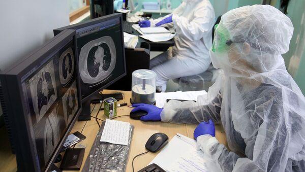 Лечение пациентов с COVID-19 в Волгограде - Sputnik Аҧсны