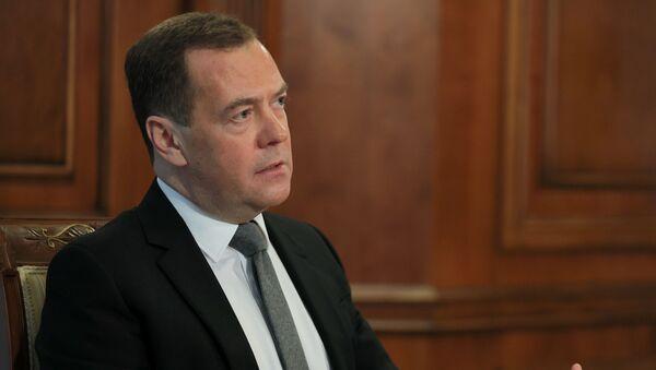 Заместитель председателя Совбеза РФ Д. Медведев дал интервью российским СМИ - Sputnik Аҧсны