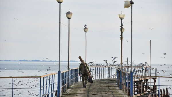 Сухумская набережная  - Sputnik Абхазия