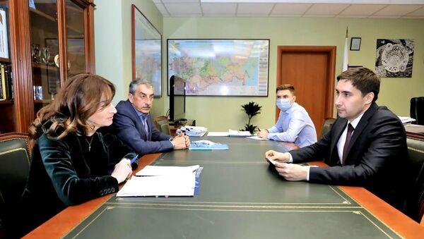Рабочая встреча в Министерстве энергетики Российской Федерации - Sputnik Аҧсны
