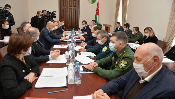 Заседание Координационного штаба по эпидобстановке - Sputnik Аҧсны
