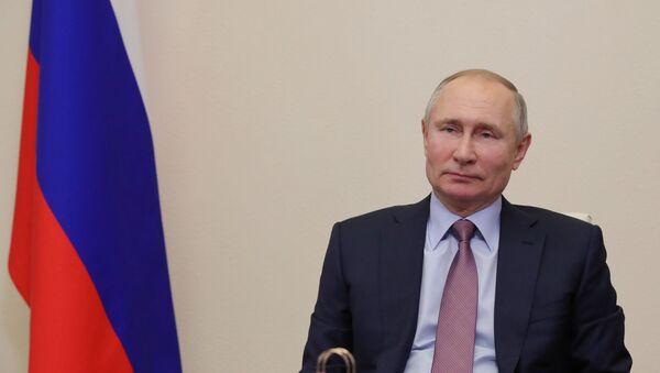 Президент РФ В. Путин провел встречу с лауреатами конкурса Учитель года - Sputnik Аҧсны
