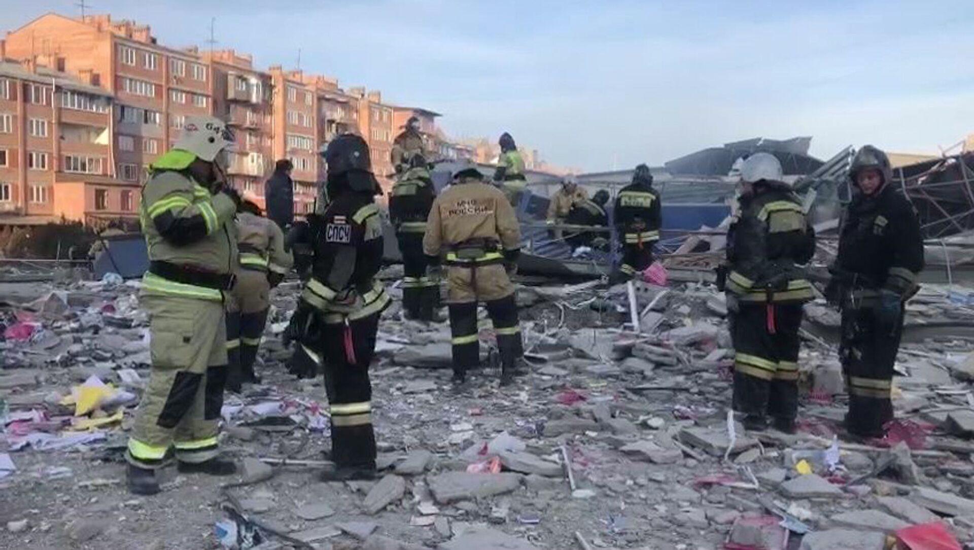 Взрыв в супермаркете во Владикавказе - Sputnik Аҧсны, 1920, 12.02.2021