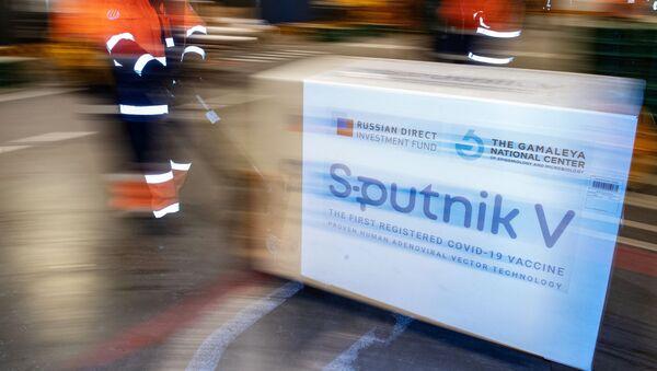 Доставка вакцины Sputnik V на склад в грузовой терминал Москва Карго - Sputnik Абхазия
