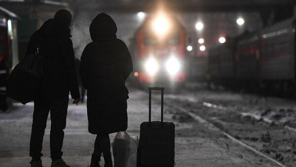 Ж/д сообщение между Россией и Китаем ограничили одним поездом - Sputnik Аҧсны