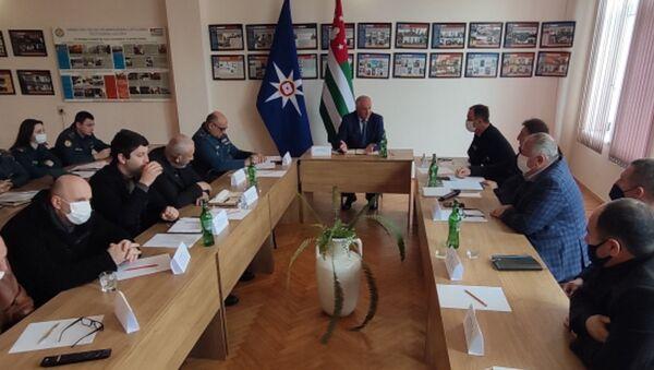 Рабочая группа по проблеме лесных пожаров создана распоряжением правительства Абхазии - Sputnik Аҧсны