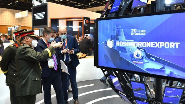 Выставка оборонной промышленности IDEX-2021 в Абу-Даби - Sputnik Абхазия