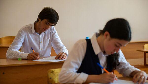 Выпускные экзамены в 4 школе г.Сухум - Sputnik Аҧсны