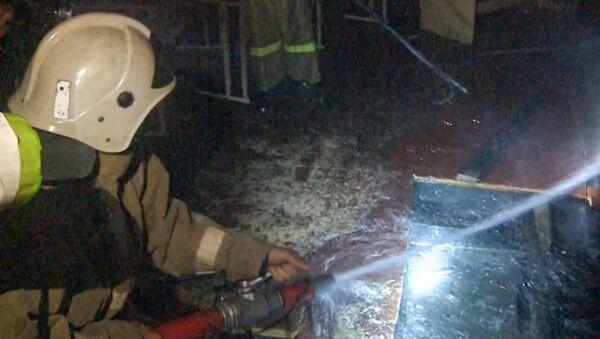Произошел пожар в школе Альфа в Сухуме  - Sputnik Аҧсны