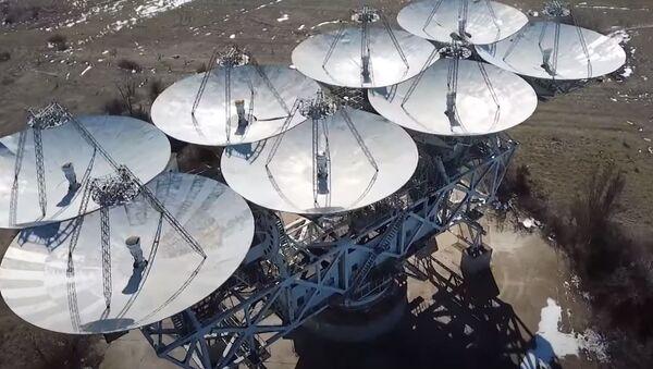 В Евпатории началась реконструкция одного из самых больших телескопов в мире - Sputnik Абхазия