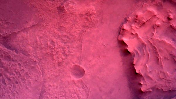 Фотографии, снятые исследовательским аппаратом NASA's Perseverance Mars Rover с помощью камеры Rover Down-Look Camera - Sputnik Абхазия