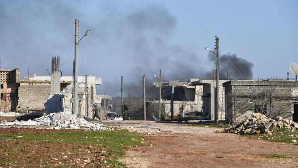 Ситуация в населенном пункте ад-Дейр аш-Шаркий в Сирии - Sputnik Аҧсны
