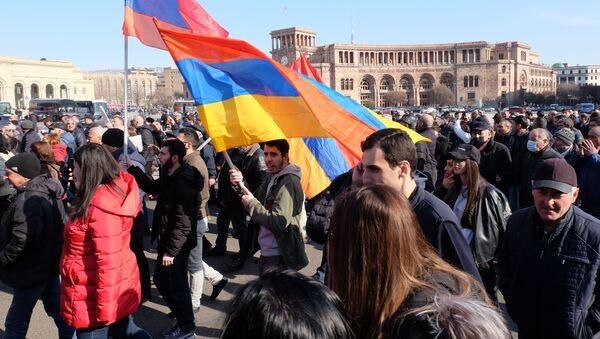 Ситуация в Ереване - Sputnik Абхазия