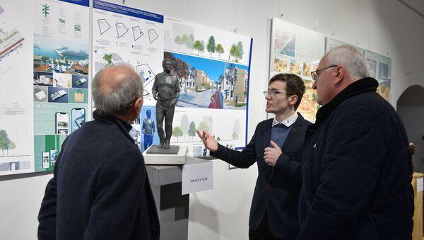 Госкомиссия отобрала три работы конкурса на создание памятника Сергею Багапш - Sputnik Абхазия