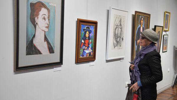 Выставка работ в ЦВЗ посвященная 8 марта - Sputnik Абхазия