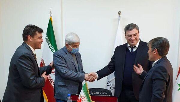 Прошла официальная встреча Чрезвычайного и Полномочного Посла Республики Абхазия в Сирийской Арабской Республике  - Sputnik Абхазия