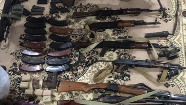 Изъятое оружие и боеприпасы - Sputnik Абхазия