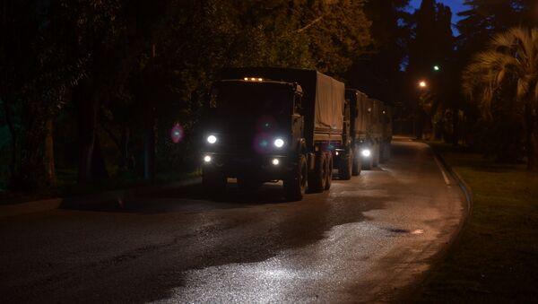 Военные госпиталь покидает Абхазию  - Sputnik Абхазия