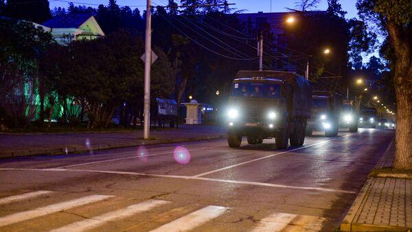 Военные госпиталь покидает Абхазию - Sputnik Аҧсны
