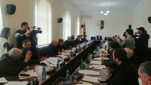 Заседание парламента  - Sputnik Аҧсны