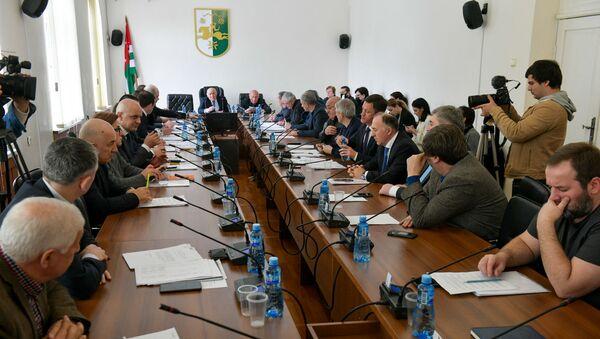 Заседание парламента Республики Абхазия  - Sputnik Абхазия