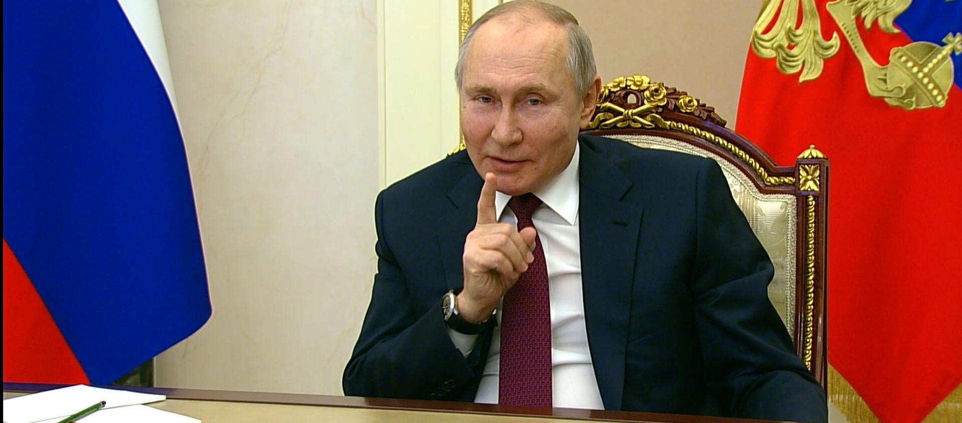 Будьте здоровы: Путин ответил на обвинения Байдена - Sputnik Абхазия, 1920, 18.03.2021