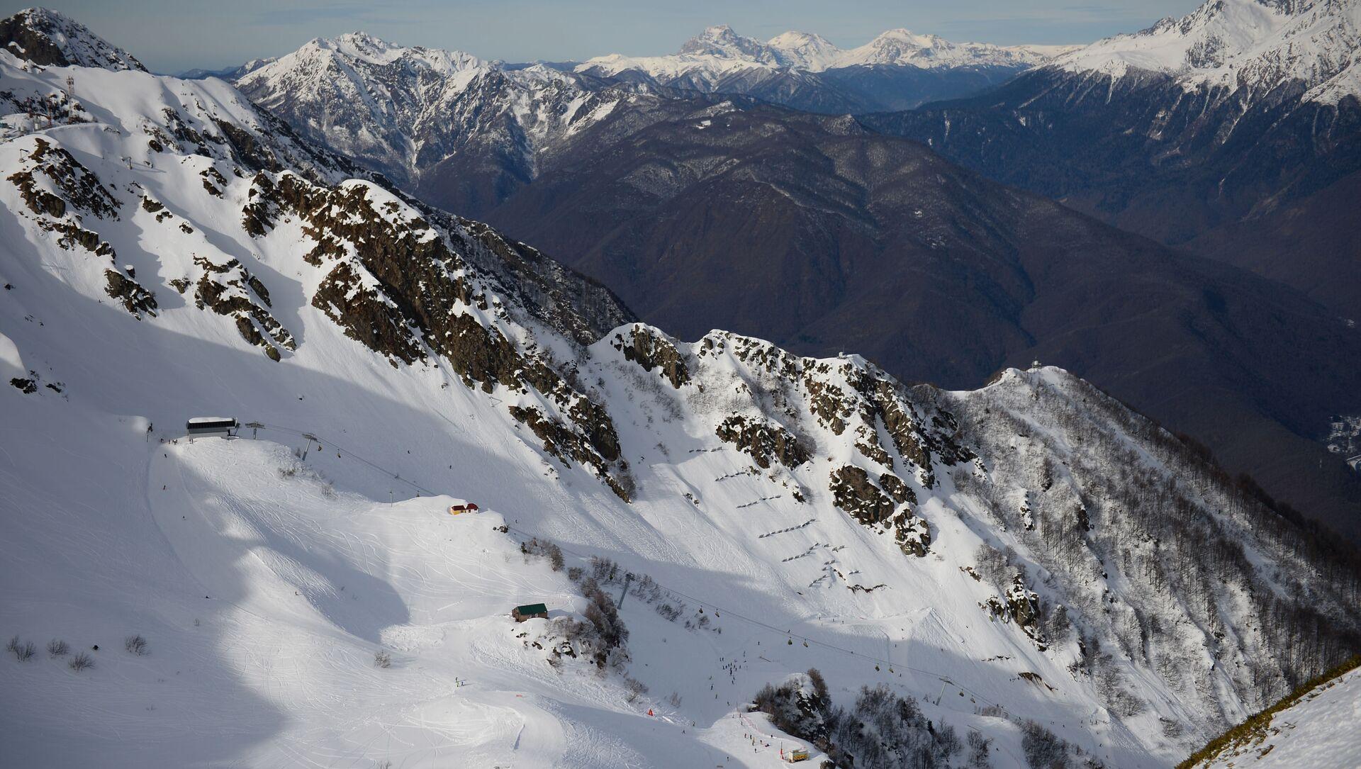 Открытие сезона на горнолыжном курорте Роза Хутор в Сочи - Sputnik Аҧсны, 1920, 20.05.2021