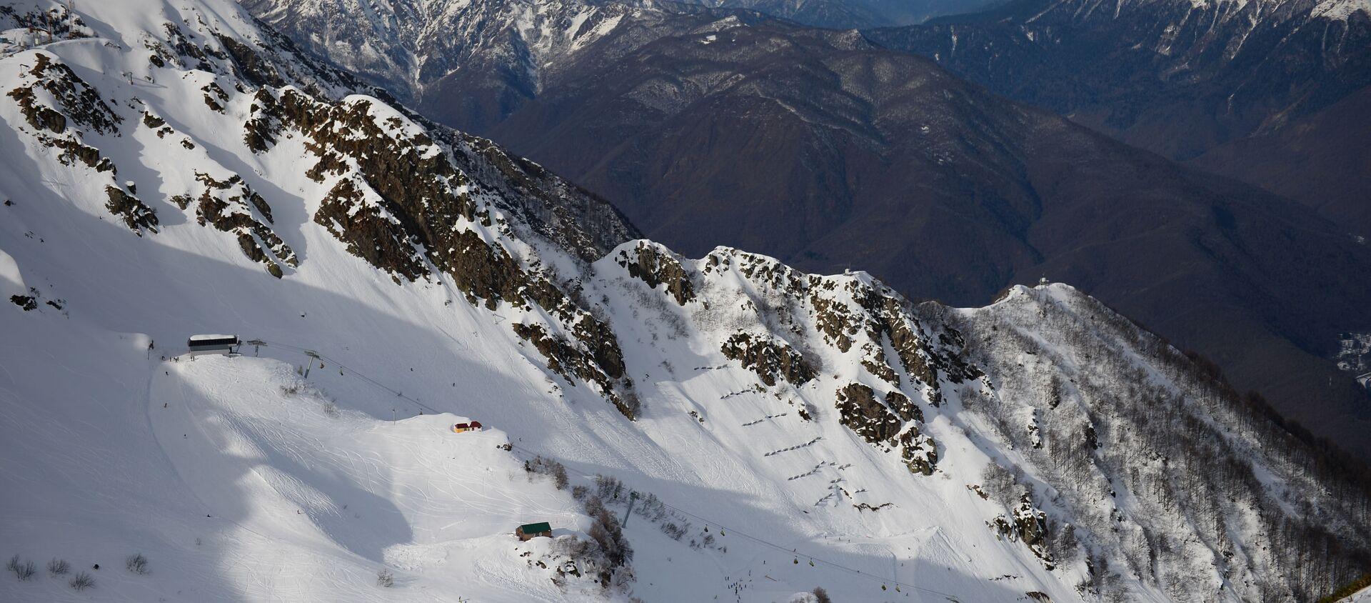 Открытие сезона на горнолыжном курорте Роза Хутор в Сочи - Sputnik Аҧсны, 1920, 16.05.2021