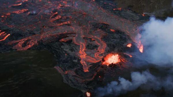 В Исландии пробудился древний вулкан  - Sputnik Абхазия