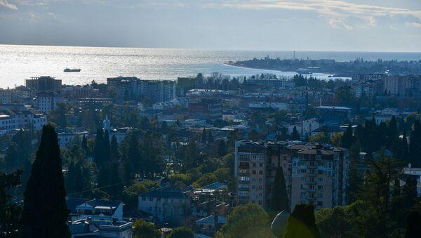 Вид на сухумскую бухту  - Sputnik Абхазия