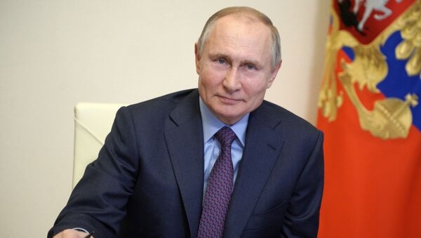 Президент РФ В. Путин провел совещание по вопросам наращивания производства вакцин и вакцинации населения РФ - Sputnik Аҧсны