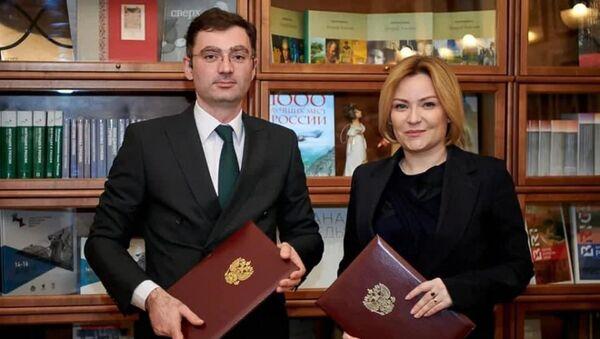 Подписан  План сотрудничества между Россией и Абхазией в области культуры на 2021 год  - Sputnik Аҧсны