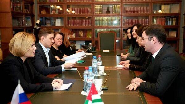 Подписан  План сотрудничества между Россией и Абхазией в области культуры на 2021 год  - Sputnik Абхазия