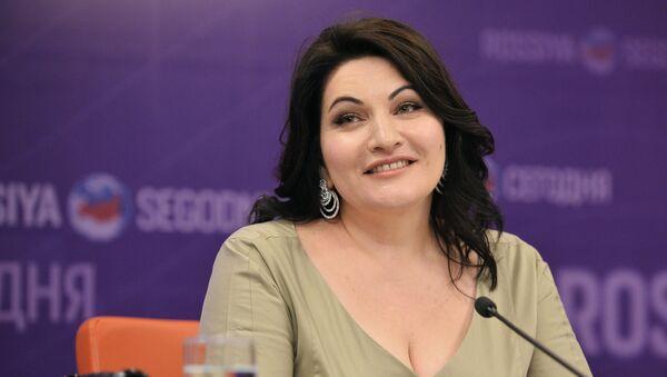 Пресс-конференция оперной певицы Хиблы Герзмава - Sputnik Абхазия