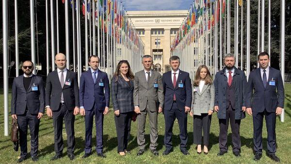 О 52 - м раунде Международных Женевских дискуссий  - Sputnik Абхазия