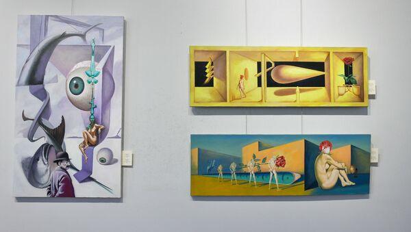 Выставка Адгура Ампар Межвременье - Sputnik Абхазия