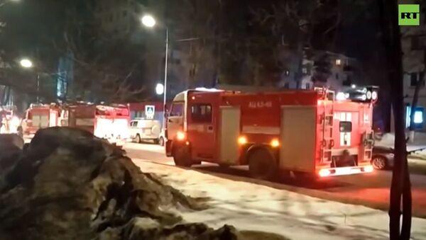 Последствия взрыва бытового газа в жилом доме в Зеленодольске - Sputnik Абхазия