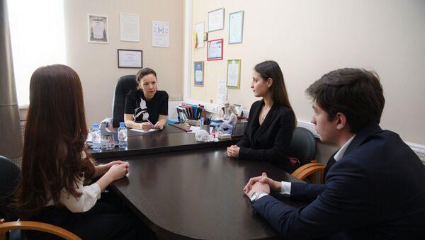 Анна Кузнецова провела встречу со студентами Абхазии - Sputnik Аҧсны