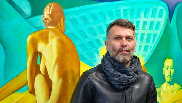 Выставка Адгура Ампар Межвременье - Sputnik Аҧсны