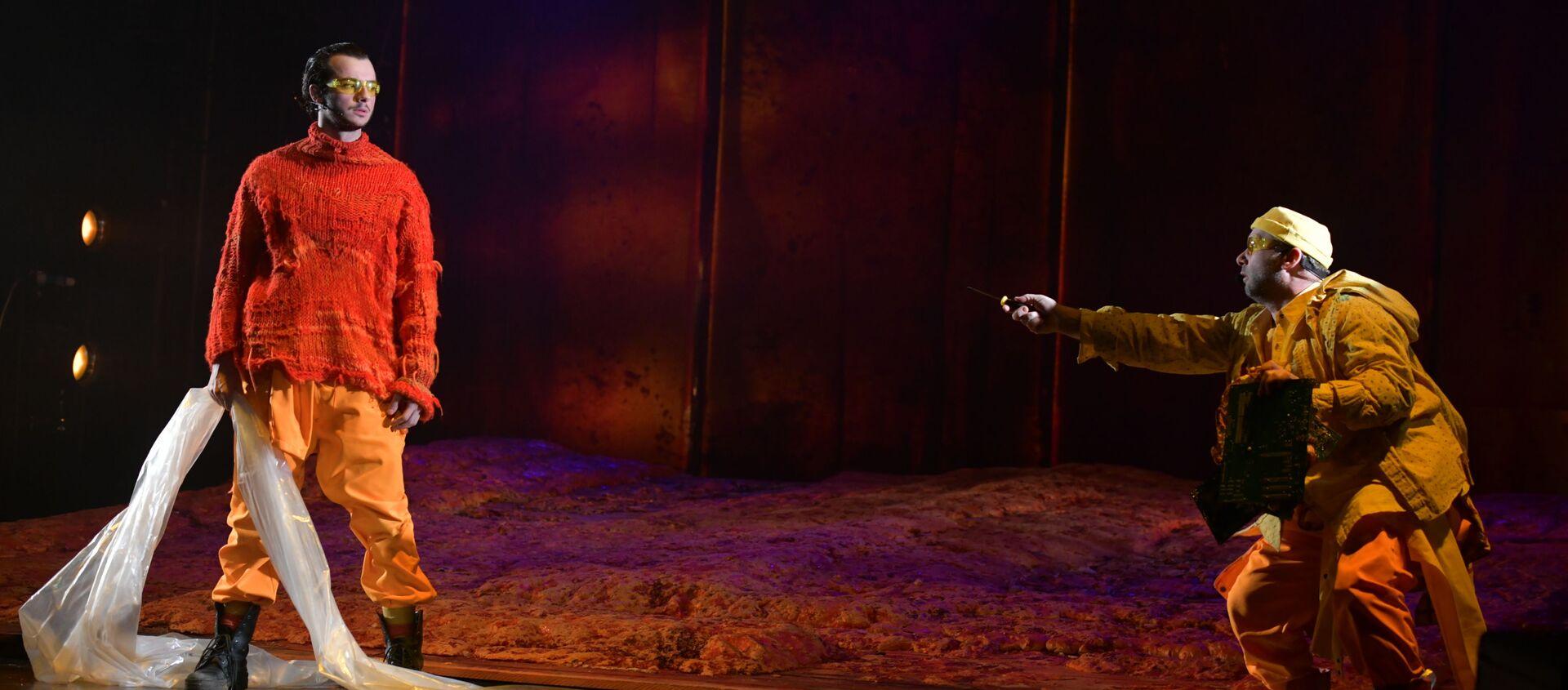 Предпремьерный показ спектакля Солярис - Sputnik Абхазия, 1920, 03.04.2021