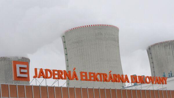 Градирни АЭС Дукованы во время учений по ядерной аварии 26 марта 2013 года в 50 км от города Брно. AFP PHOTO / МИХАЛ ЧИЗЕК - Sputnik Абхазия