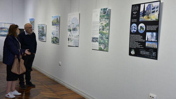 Выставка Архитектура города. Проекты. Идеи. Перспективы - Sputnik Аҧсны