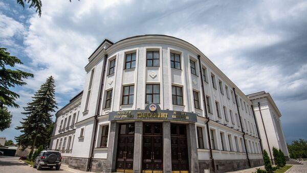 Здание Парламента Республики Южная Осетия в Цхинвале. - Sputnik Аҧсны