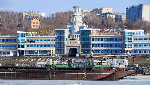 Речной порт в городе Чебоксары. - Sputnik Аҧсны
