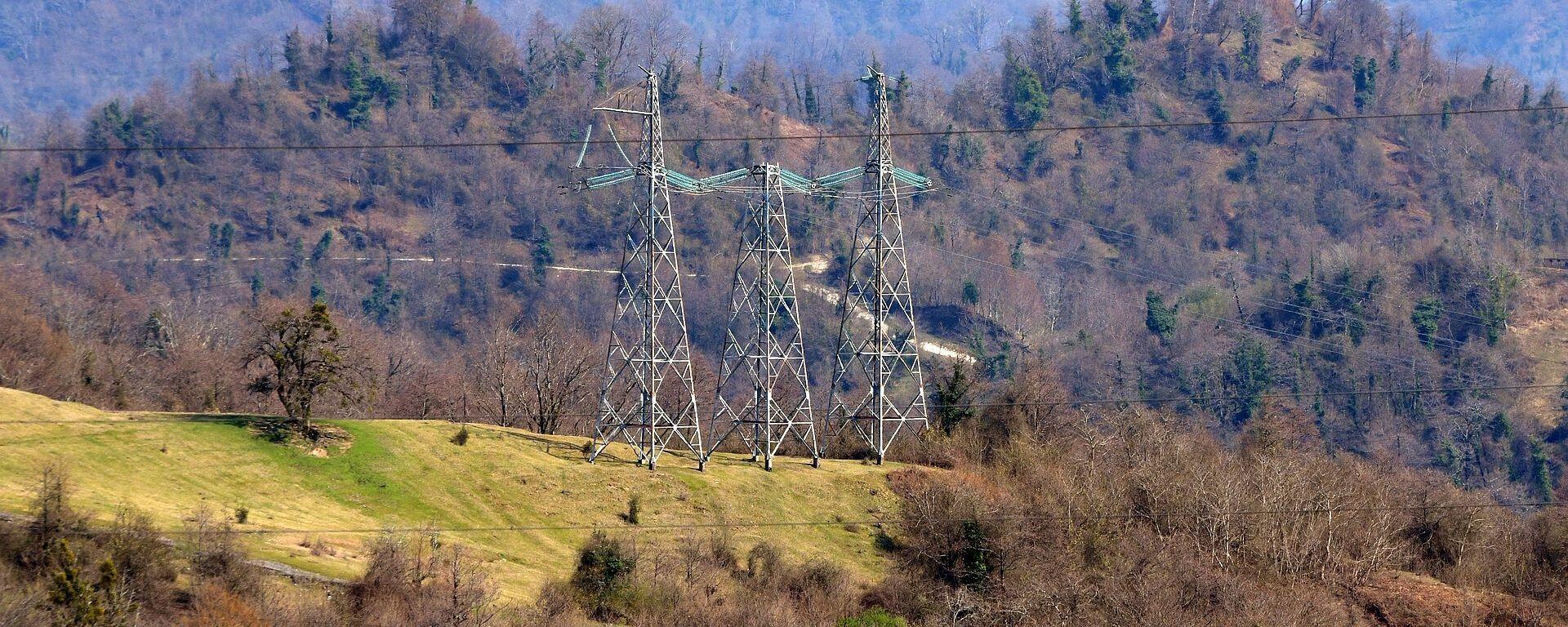 Линии проводов ВЛ - Sputnik Абхазия, 1920, 09.10.2021