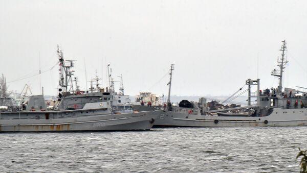 Катера ВМС Украины Бердянск, Никополь и буксир Яны Капу прибыли в Очаков - Sputnik Абхазия