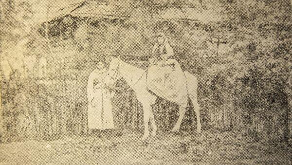 Из книги Шалвы Инал-ипа «Очерки по истории брака и семьи у абхазов» 1954 года - Sputnik Аҧсны