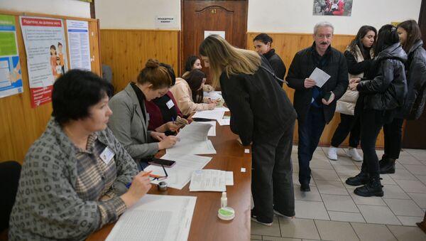 Выборы в органы местного самоуправления 2021 - Sputnik Абхазия